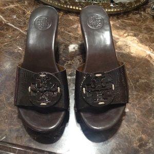 Tory Burch Sandals Slide Clogs Shoes Size 6